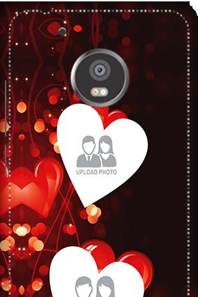 3D - Moto G5 Plus True Love Valentine's Day Mobile Cover