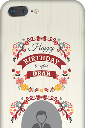 3D IPhone 7 Plus  Happy Birthday Dear Mobile Cover