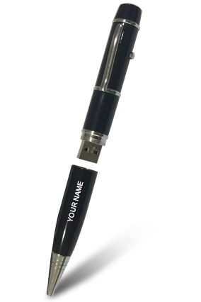 Laser Pointer Pen with Pen Drive