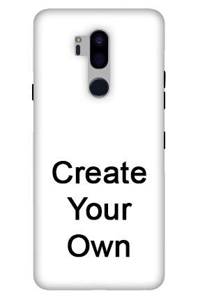 3D-Create Your Own LG G7 Plus ThinQ Mobile Cover