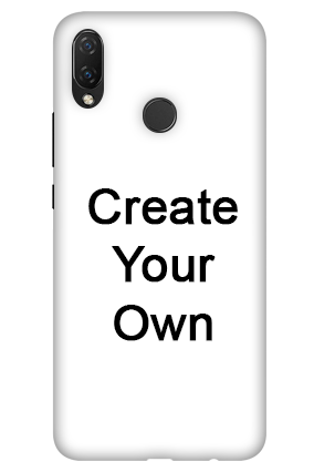 3D-Create Your Own Huawei Nova 3i Mobile Cover