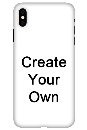 3D - Create Your Own Apple iPhone XS Max Mobile Cover