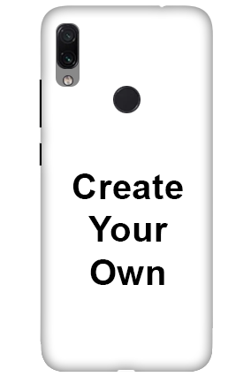 3D-Create Your Own Xiaomi Redmi Note 7 Pro Mobile Covers