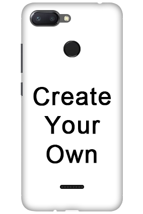 Redmi 6 - Create Your Own Mobile Covers