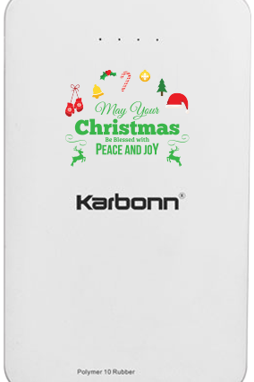 Blue Karbonn 10000mAh Power Bank