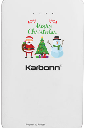Happy New Year Karbonn 10000mAh Power Bank