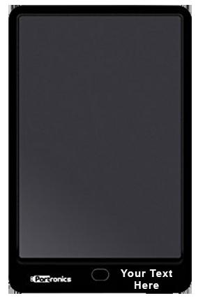 Portronics Por-796 Ruffpad 10 Digital Notepad (POR 796, Black)