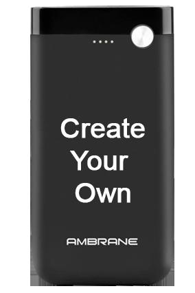Design Your Own Ambrane Polymer PP-11 - 10000mAh Power Bank Black