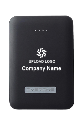 Ambrane Polymer Power Bank PP-12 10000mAh-Black