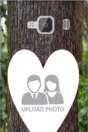 Silicon - Heart Xiaomi Redmi 2 Prime Mobile Cover