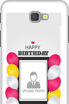 3D - Samsung Galaxy J7 Prime Happy Birthday Dear Mobile Cover