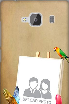 Silicon - Paint Xiaomi Redmi 2 Prime Mobile Cover