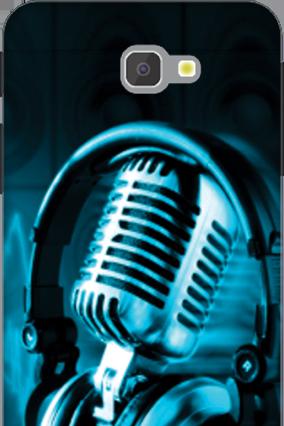 3D - Samsung Galaxy J7 Prime Headphones Mobile Cover
