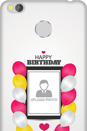 Xiaomi Redmi 3S Prime Birthday Greetings Mobile Cover