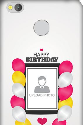 Xiaomi Redmi 3S Prime Birthday Greetings Mobile Cover