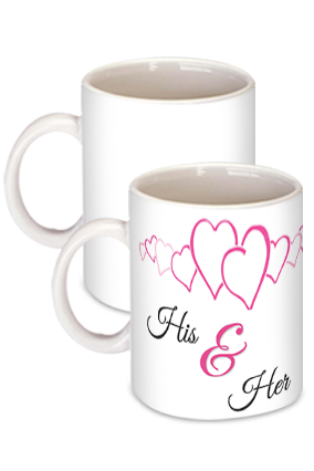 His & Her Ring Coffee Mug