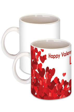 Valentine Day Mugs Buy Personalized Valentine S Day Gifts Mugs Online