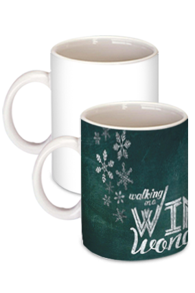 Elegant Winter Wonderland Coffee Mug
