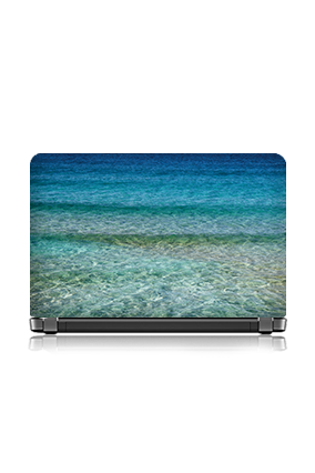 Personalised Sea Themed Laptop Skin
