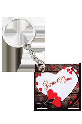 Attractive Round Key Chain