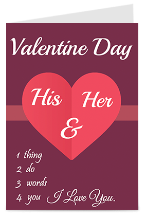 Designer Customize Love You Valentines Day Greeting Cards