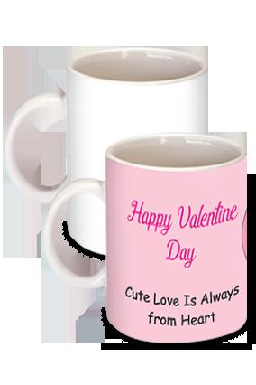 Printed  Cute Love Birds Theme Mug