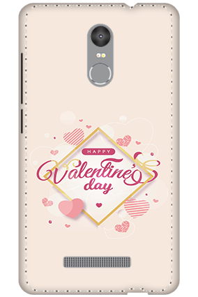 3D - Redmi Note 3 Snowy Pink Mobile Covers