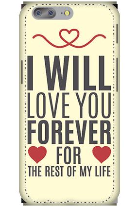 Designer 3D-OnePlus 5 Lifelong Love Mobile Covers