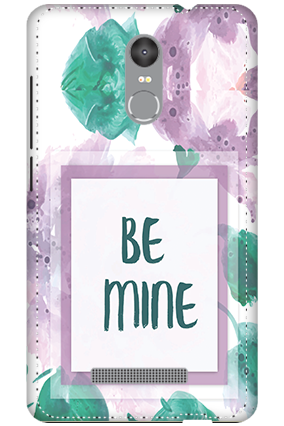 3D - Redmi Note 3 Be Mine Themed Mobile Covers