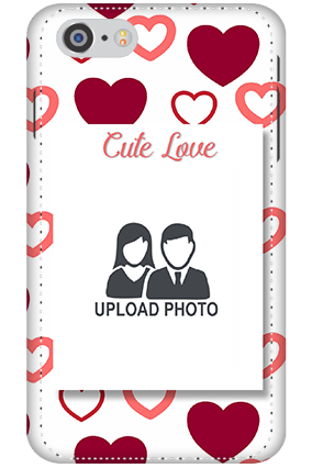 3D - Iphone 7 Customized cute love mobile covers