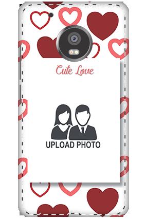 3D - Xiaomi Redmi 3S Prime Customized Cute Love Mobile Covers