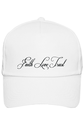 Design Your White Cap - Love & Faith