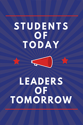 Students Are Leaders Poster