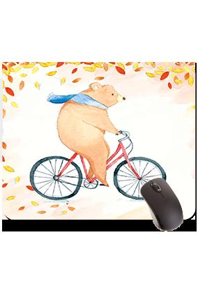 Funny Bear Rectangular Mouse Pad