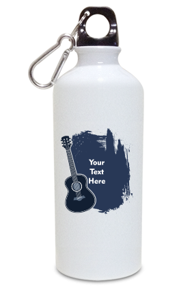 Rock the World Aluminium White Color Sipper