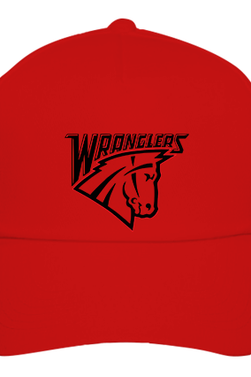 Wranglers red Cap with Logo