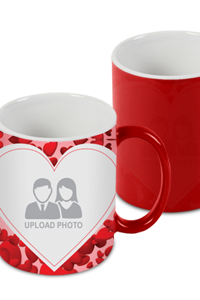 Love Zone Red Magic Mug
