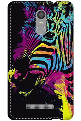 3D - Redmi Note 3 Colorful Zebra Mobile Covers