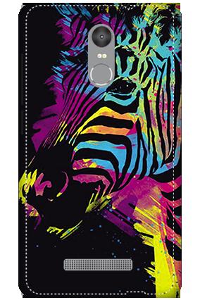 3D - Redmi Note 3 Colorful Zebra Mobile Covers