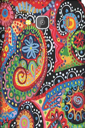Xiaomi Redmi 2 Colorful Mobile Cover