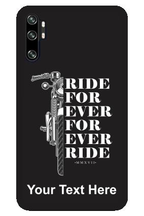 Redmi Note 10 Pro Ride Forever Designer - Mobile Phone Cover