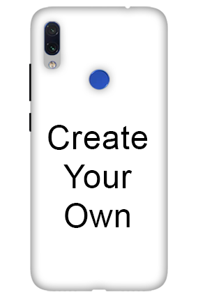3D-Create Your Own Redmi Note 7s Mobile Cover