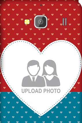 Xiaomi Redmi 2 Colorful Heart Valentine's Day Mobile Cover