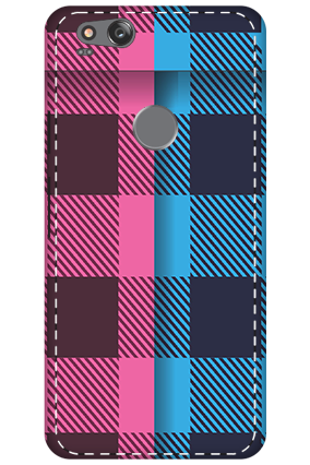 3D - Google Pixel 2 Geomatric Pattern Mobile Cover
