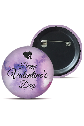 Smashing Valentine's Day Themed Badge