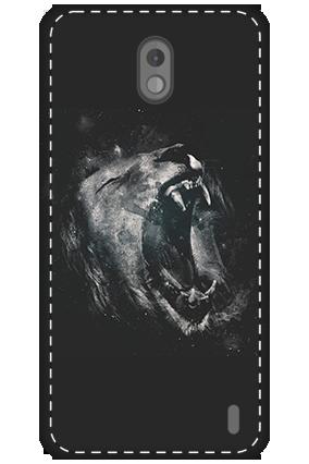 3D - Nokia 2 Roar Lion Mobile Cover