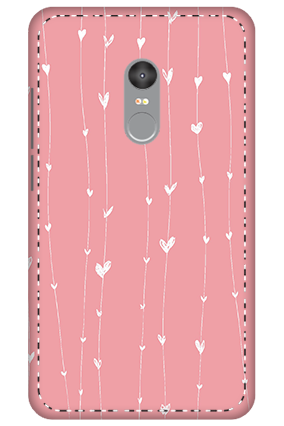 3D - Xiaomi Redmi Note 4 Hanging Heart Mobile Covers