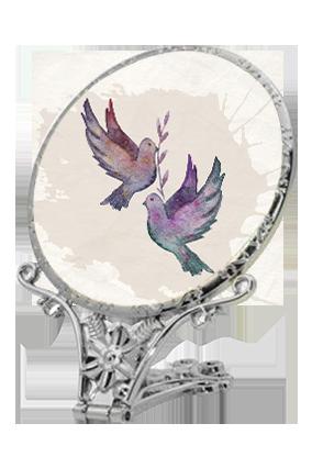 Attractive Antique Standing Mirror