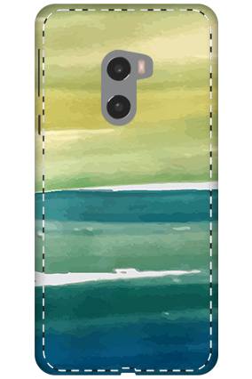 3D - Xiaomi Mi Mix 2 Ocen Water Painting Mobile Cover