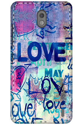3D - Nokia 2 The True love Mobile Cover